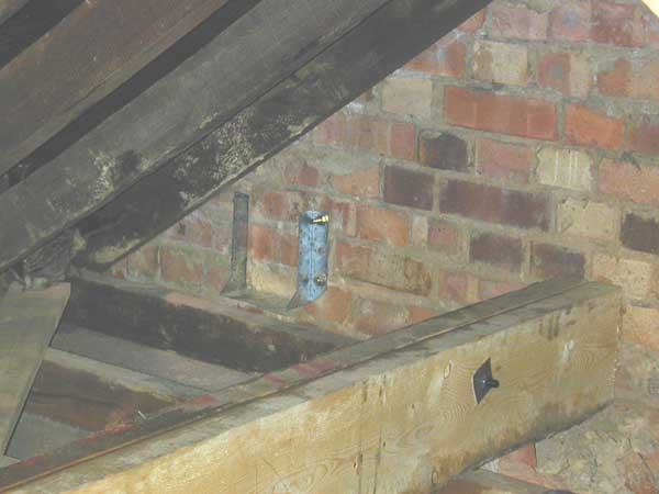 How To Secure Trimmer Joist To Wall